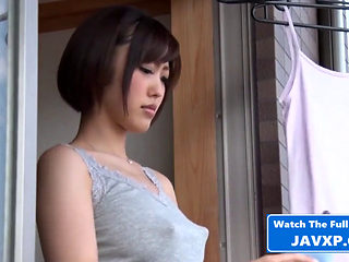 Asian Stepmom Cant Resist Temptation